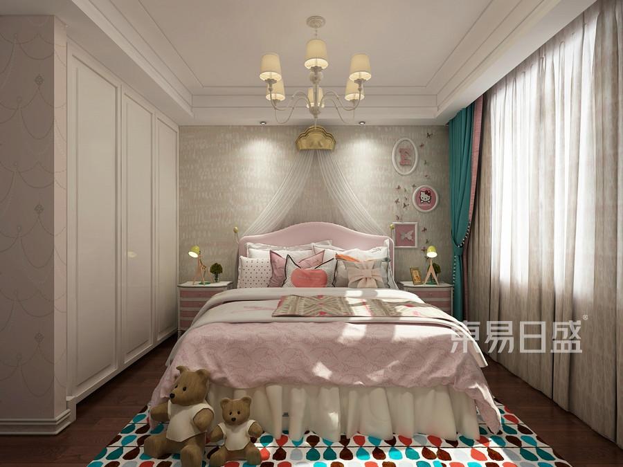 三居室-中式混搭-效果图