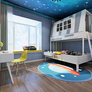 尚景新世界297儿童房