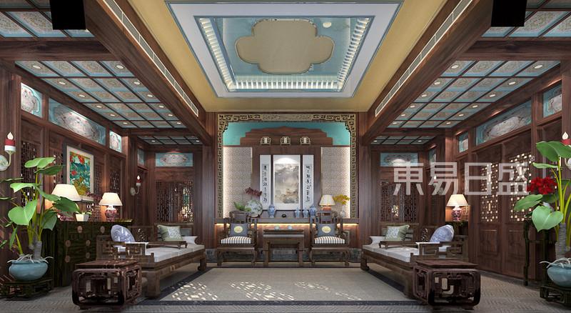 800平米古典中式自建别墅