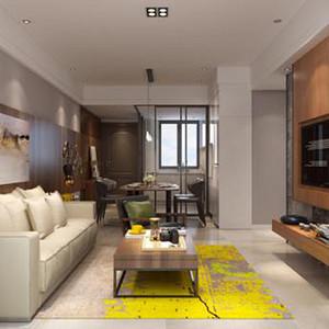 中熙君南山 83平米  现代简约二居室