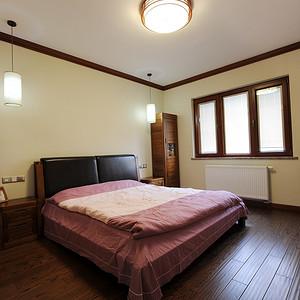 九峰小区176平现代中式风格三房卧室