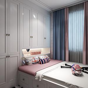 中海广场现代新极简风格儿童房装修效果图