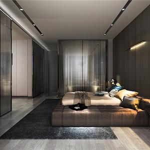 金色维也纳-现代简约-172平米卧室
