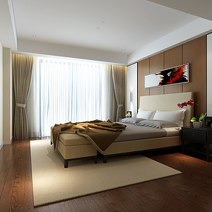 香山美邸171平现代简约设计装修效果图