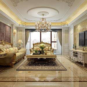 泰丰观湖-四室两厅-欧式风格案例