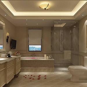 三水青清-美式-卫生间