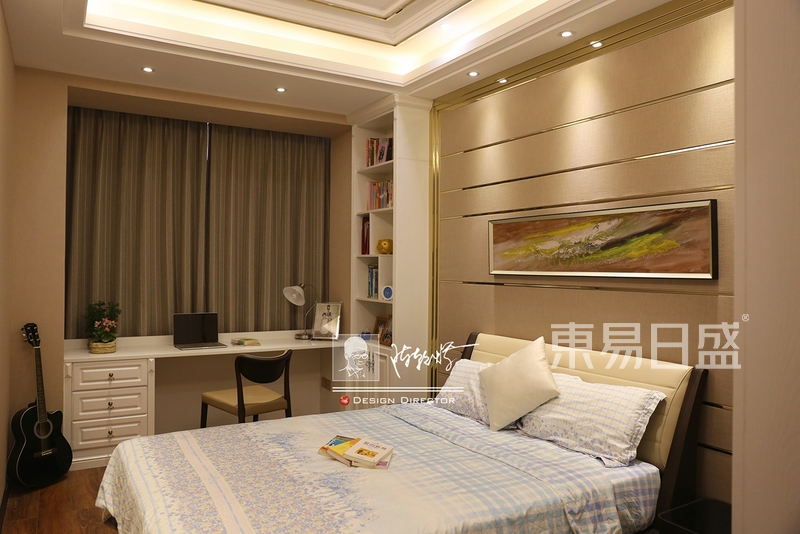 卧室效果图-现代简约