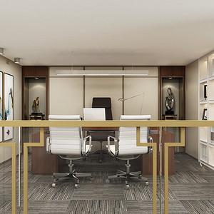 合正320平四层跃式办公空间室内设计