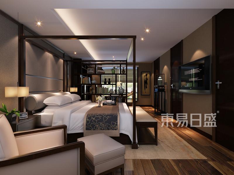 嘉兴御上江南新中式别墅430平米高清图片