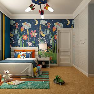 欧式风格-儿童房-装修效果图