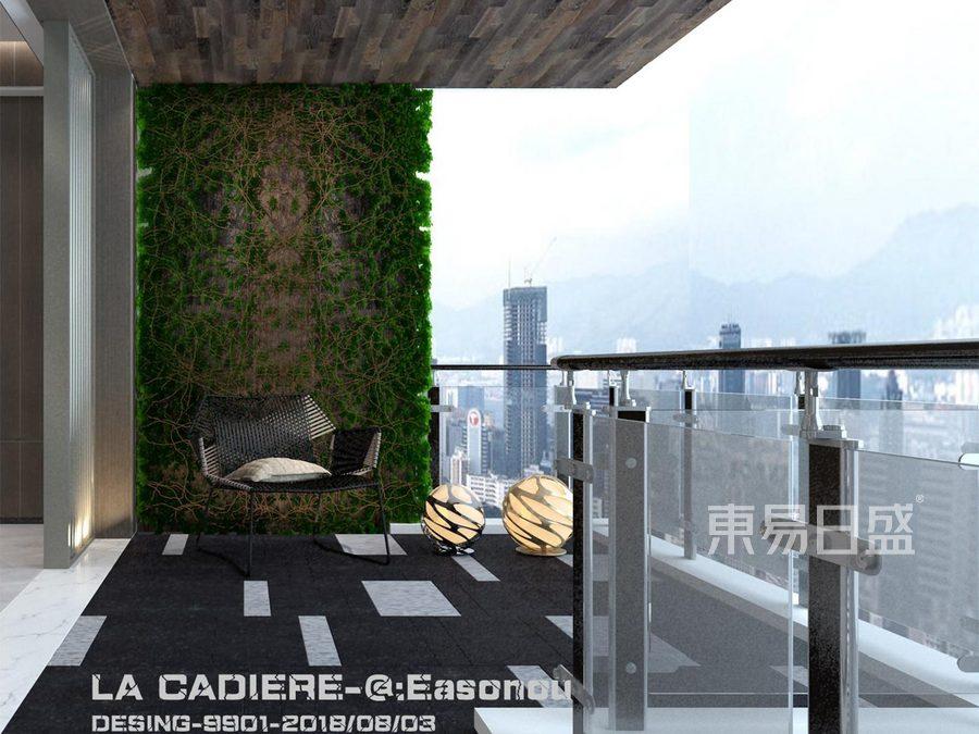 阳台装修效果图-四居室装修效果图-现代风格装修效果图