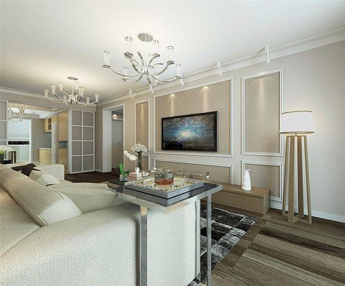 观园公寓-现代简约-143平米