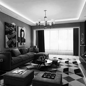 碧桂园-140平米-现代简约风格