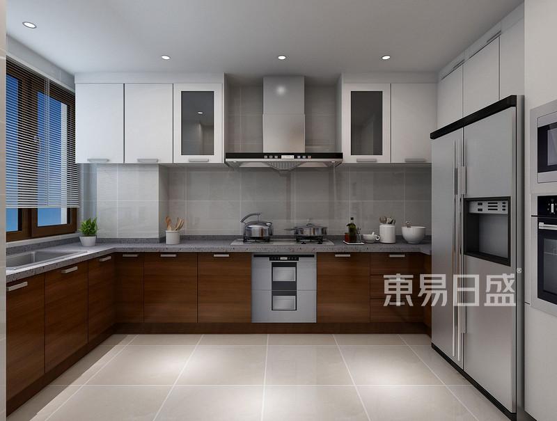 现代风格厨房效果图效果图_装修效果图大全2018图片