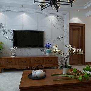 荣盛华府-中式装修风格-178平米