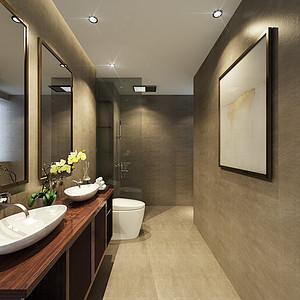 现代中式-卫生间