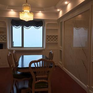 湘水湾134平新古典风格平层餐厅