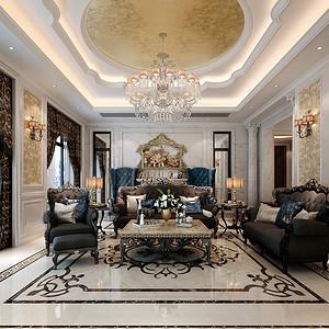 中海铂宫 新古典风格 七室四厅 500平方米