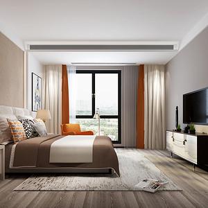 御和园现代轻奢风格卧室