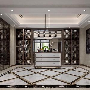 仁山智水-新中式-地下室装修效果图-新中式其他装修效果图 新中式其他