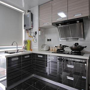 蓝调国际120平摩登现代风格厨房