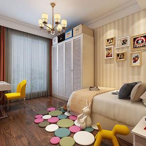 儿童房提升空间的层次感