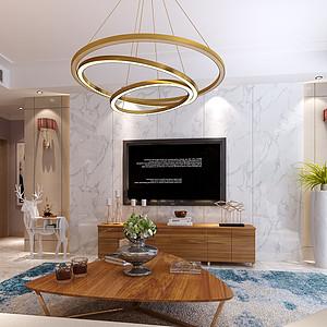 现代风格客厅·