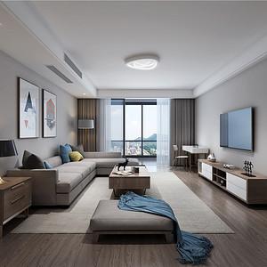 嘉华苑170平米北欧风格装修效果图 嘉华苑170平米北欧风格装修样板间