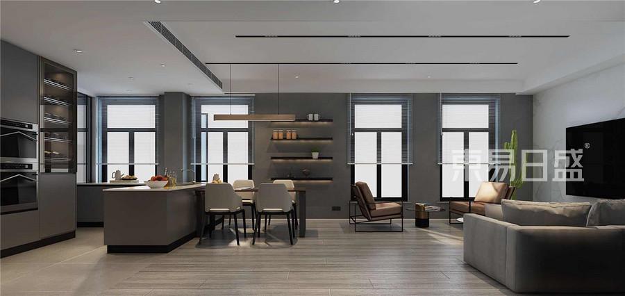 天房骊山现代风格客厅装修效果图