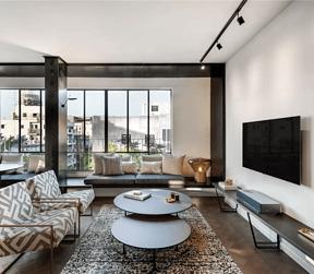 现代极简风格客厅