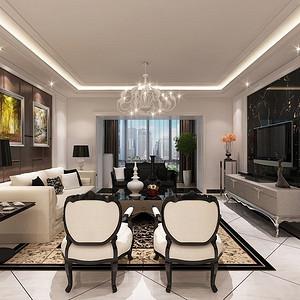 美惠家园-新古典装修风格-110平米
