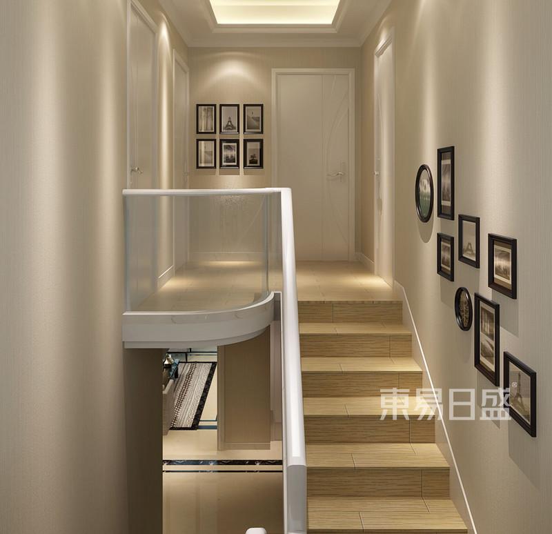 雅致主义 - 楼梯间现代奢华装修效果图