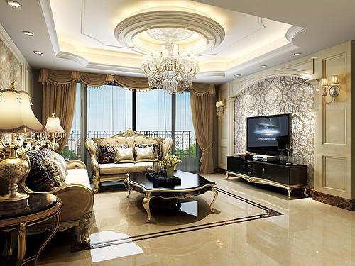 南城鼎峰源著装修效果图-138㎡简欧混搭日式三居室装修案例