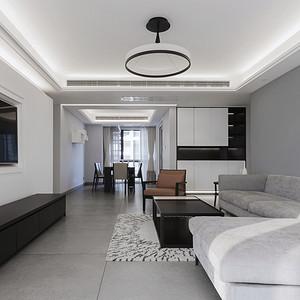 现代简约风格 客厅装修效果图