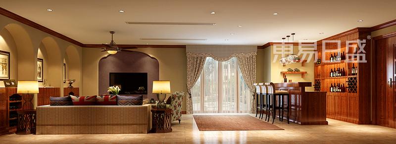 香格里拉美式乡村风格客厅