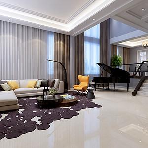 中海央墅 新中式 320平米
