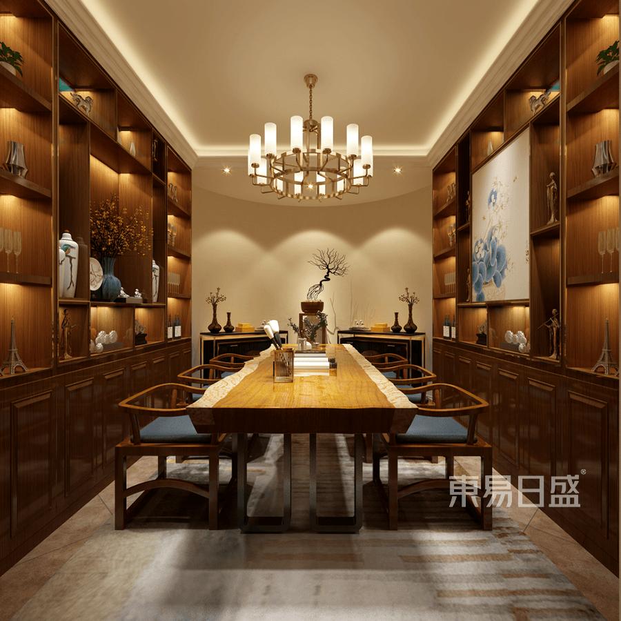 格拉斯小镇-美式古典-茶室