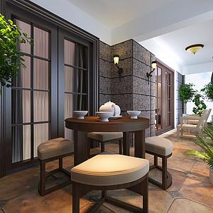 现代简约茶室
