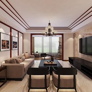理工大家属院-142平米-新中式风格