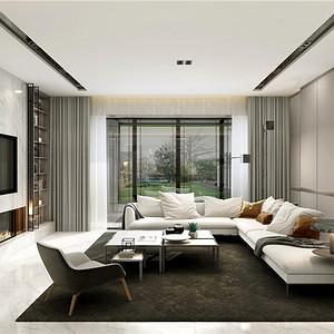 中海紫御豪庭760平新中式装修效果图 中海紫御豪庭760平新中式装修样板间