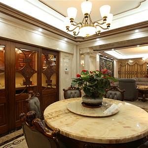 深圳餐厅装修效果图-东易日盛装饰