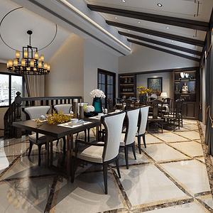 自建 别墅220m²——中式风格