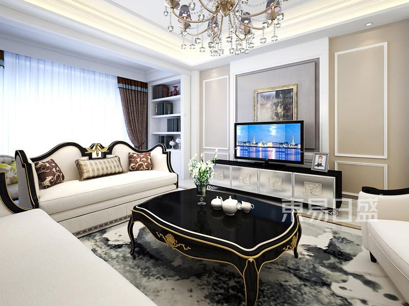 欧式现代风格 客厅