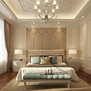 普霖花园法式宫廷卧室装修效果图-第32页 西安法式卧室装饰效果图 西