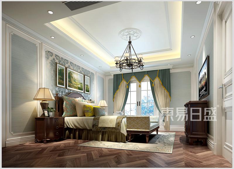 名门世家新中式风格卧室