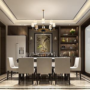 中式风格餐厅