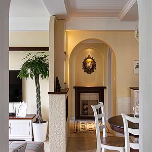 地中海风格客餐厅装修图