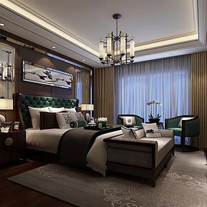 盛景嘉园 现代简约 卧室装饰图