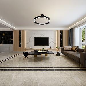 华丽庭院130平现代风格装修案例