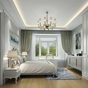 简欧风格-卧室